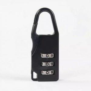 Брелок кодовый замок на сумку